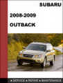 Thumbnail 2008-2009 Subaru Outback Repair Service manual download