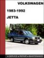 Thumbnail Volkswagen Jetta MK2 1983-1992 Service Repair Manual