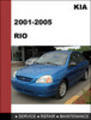 Thumbnail KIA RIO 2001-2005 OEM Factory Service Repair Manual Download