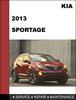 Thumbnail KIA Sportage 2013 OEM Factory Service Repair Workshop Manual Download