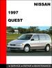 Thumbnail Nissan Quest 1997 Factory OEM Workshop Service Repair Manual