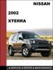 Thumbnail Nissan Xterra 2002 OEM Factory Shop Service Repair Manual