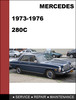Thumbnail Mercedes-Benz 280 1973-1976 Factory WORKSHOP Service Repair manual