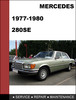 Thumbnail Mercedes-Benz 280SE 1977-198 Factory WORKSHOP Service Repair manual