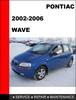 Thumbnail G3 Wave 2002 to 2006 Factory workshop Service Repair Manual