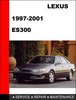 Thumbnail ES300 1997 to 2001 Factory workshop Service Repair Manual