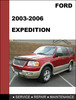 Thumbnail Ford Expedition 2003 to 2008 Factory workshop Service Repair Manual