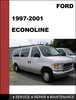 Thumbnail Ford Econoline 1997 to 2000 workshop Service Repair Manual