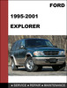 Thumbnail Ford Explorer 1995 to 2001 Factory workshop Service Repair Manual