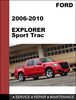 Ford Explorer & Explorer Sport Trac 2006 to 2010 Factory workshop Service Repair Manual