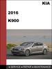 Thumbnail KIA K900 2016 Factory workshop Service Workshop Repair Manual