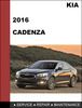 Thumbnail KIA Cadenza 2016 Factory WORKSHOP Service Repair Manual