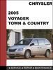 Thumbnail Chrysler Voyager - Town & Country 2005 Factory workshop Service Repair Manual