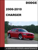 Thumbnail Dodge Charger 2006-2010 Factory workshop Service Repair Manual