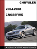 Thumbnail Chrysler Crossfire 2004 - 2008 Factory workshop Service Repair Manual