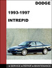 Thumbnail Dodge Intrepid 1993-1997 Factory service Workshop repair manual