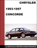 Thumbnail Chrysler Concorde 1993-1997 Factory service Workshop repair manual