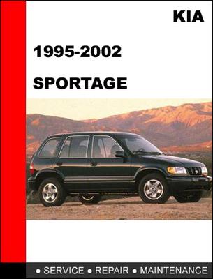 Pay for 1995-2002 KIA Sportage Factory Service Repair Manual