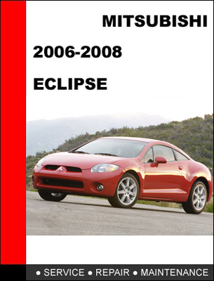 mitsubishi eclipse 2006 2008 factory service repair manual. Black Bedroom Furniture Sets. Home Design Ideas