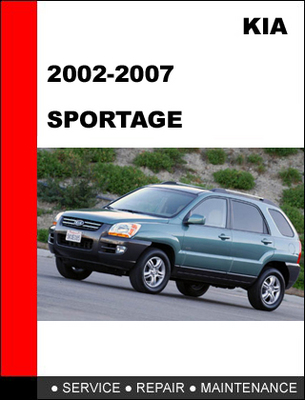 2002 2007 kia sportage factory service repair manual download man rh tradebit com 2002 Kia Sportage Kia Sportage Common Problems