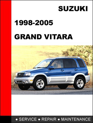 2010 suzuki grand vitara workshop manual online user manual u2022 rh pandadigital co 2005 Suzuki Forenza 2005 Suzuki XL7 Reliability