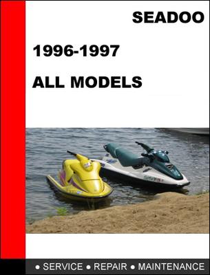 2006 seadoo service factory shop manual dowbload