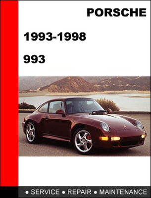porsche 911 993 1993 1998 workshop service repair manual