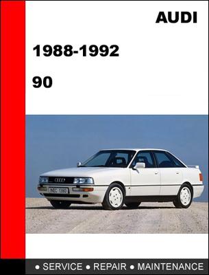 Free Audi 90 1988-1992 Factory Service Repair Manual Download thumbnail