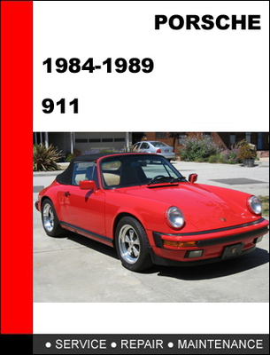 Pay for Porsche 911 1984-1989 Factory Service Repair Manual