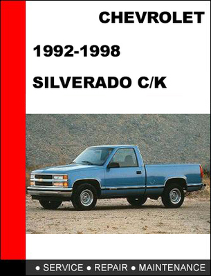 1998 chevy silverado repair manual pdf