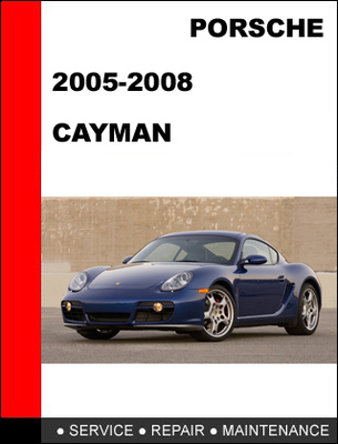 porsche cayman 2005 2008 workshop service repair manual. Black Bedroom Furniture Sets. Home Design Ideas