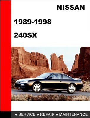 Pay for Nissan 240SX 1989-1998 Factory Service Repair Manual