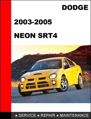 dodge neon srt4 2003 2005 workshop service repair manual. Black Bedroom Furniture Sets. Home Design Ideas