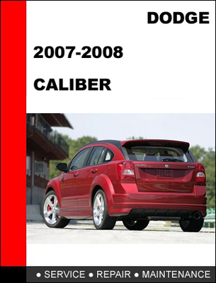Dodge Caliber Workshop & Owners Manual