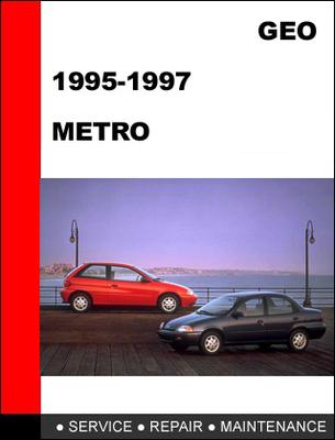 service manual [1997 geo metro maintenance manual