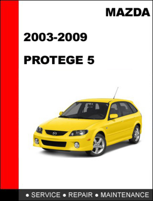 mazda protege 5 2001 2003 factory service repair manual download rh tradebit com Mazda 929 Mazda 929