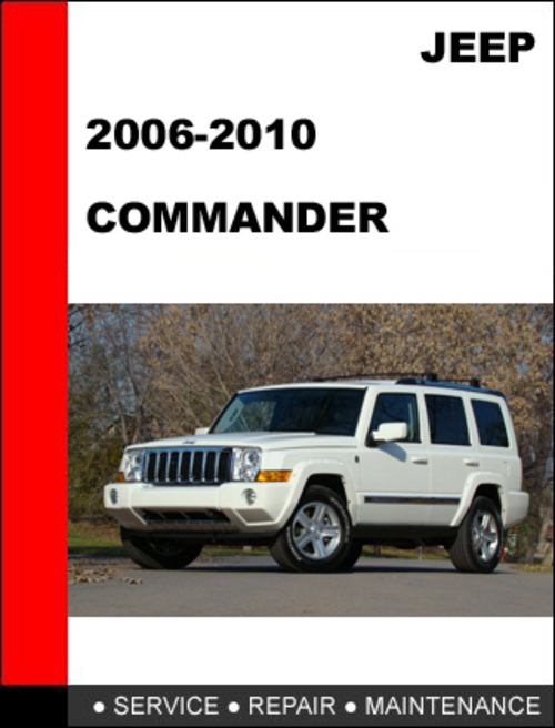 Pay for Jeep Commander 2006-2010 Factory Service Repair Manual