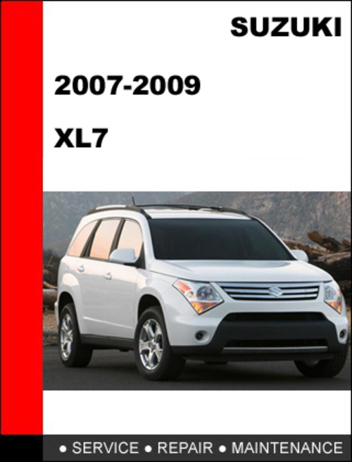 suzuki xl7 2007 2009 workshop service repair manual download manu rh tradebit com suzuki xl7 2008 manual suzuki xl7 2008 manual