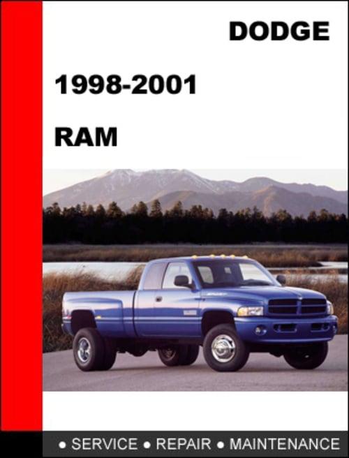 Pay for Dodge RAM 1998-2001 Workshop Service Repair Manual