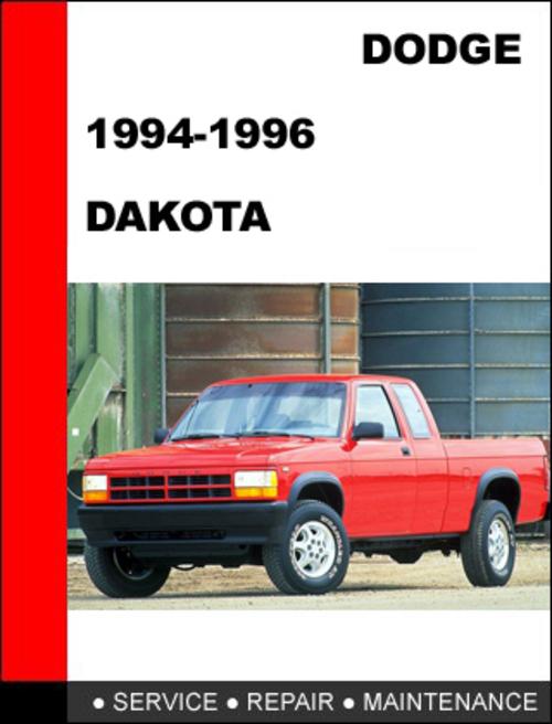 Pay for Dodge Dakota 1994-1996 Workshop Service Repair Manual