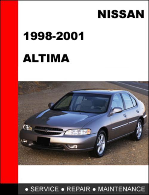 nissan altima 1998 2001 workshop service repair manual. Black Bedroom Furniture Sets. Home Design Ideas