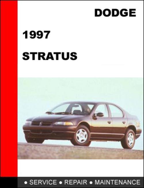 dodge stratus 1997 workshop service repair manual download manual rh tradebit com 2001 Dodge Stratus Wiring-Diagram 97 Dodge Stratus Manual