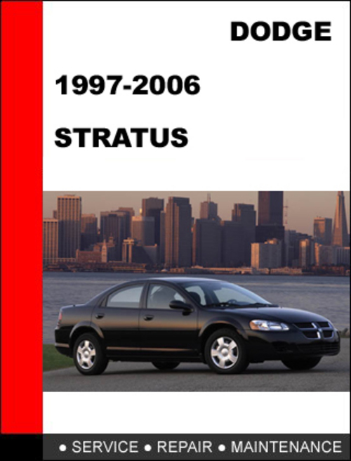 dodge stratus 1995 2006 workshop service repair manual. Black Bedroom Furniture Sets. Home Design Ideas