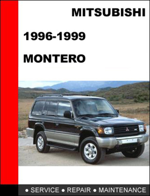mitsubishi montero 1996 1999 factory service repair manual downlo rh tradebit com 1998 Montero Sport Alternator 1998 mitsubishi montero sport ls repair manual
