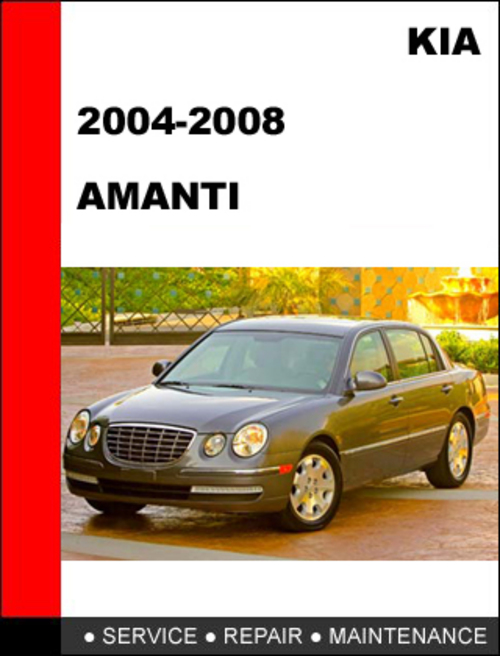kia amanti 2007 workshop repair service manual pdf