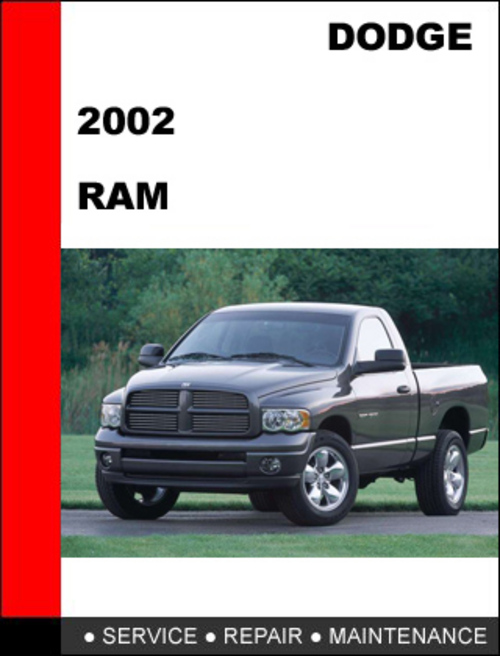 service manual manual repair engine for a 2002 dodge ram. Black Bedroom Furniture Sets. Home Design Ideas
