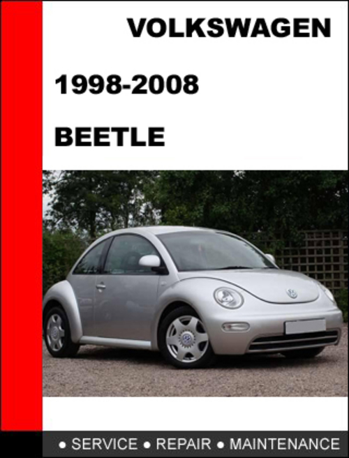 volkswagen new beetle service manual 1998 1999 2000 2001. Black Bedroom Furniture Sets. Home Design Ideas