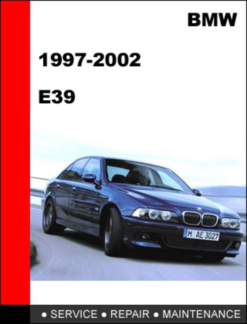 Pay for BMW E39 1997-2002 Service Repair Manual Download
