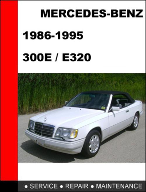 mercedes benz 300e e320 1986 1995 service repair manual