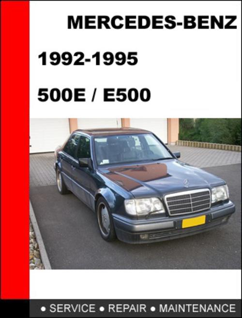 Mercedes benz 500e e500 1992 1995 service repair manual for Mercedes benz financial services payoff